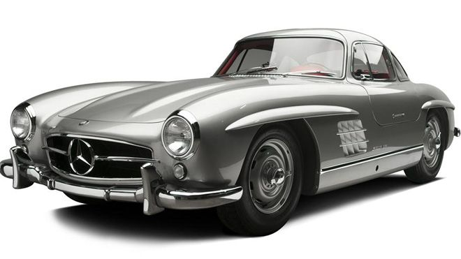 gable gullwing front 660 Auction Puts Clark Gable's Gullwing up for Grabs