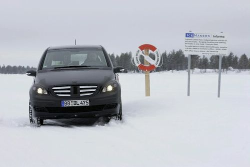 mercedes benz b class 1 Mercedes Benz B Class Electric Drive Concept Development: Cold Weather Testing