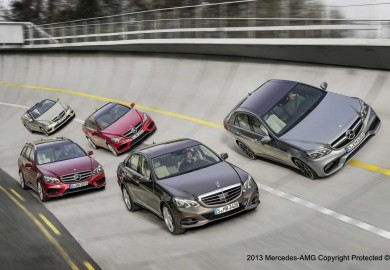 E-Class Group with E63 AMG