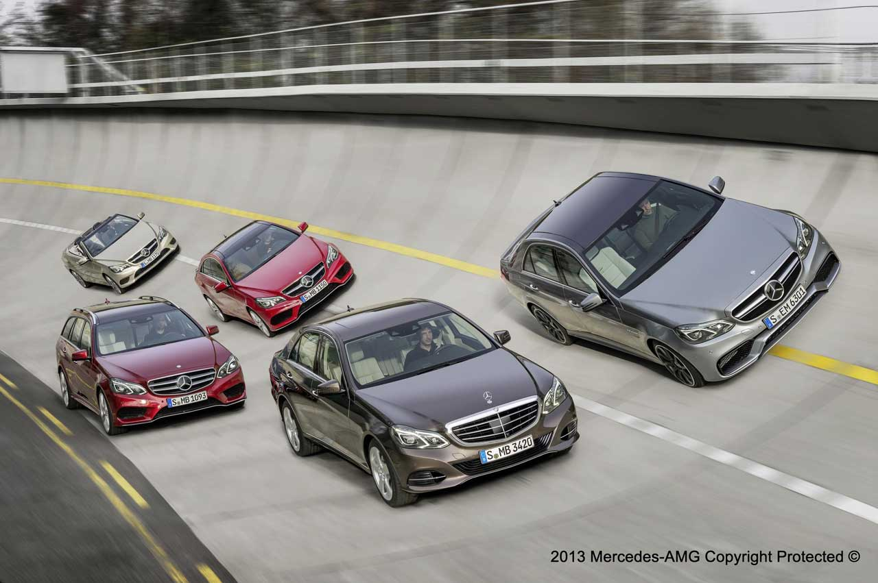 E class group pictures leaked at the facebook page of for Mercedes benz fans