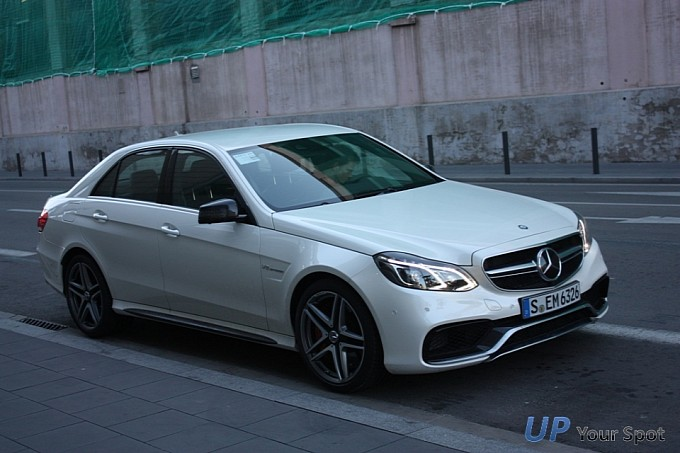 mercedes benz e63 amg s model spotted in barcelona photo gallery 10 E63 AMG S Model Seen In Barcelona