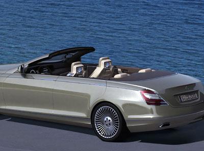 Concept ocean drive four door convertible benzinsider for Mercedes benz ocean drive