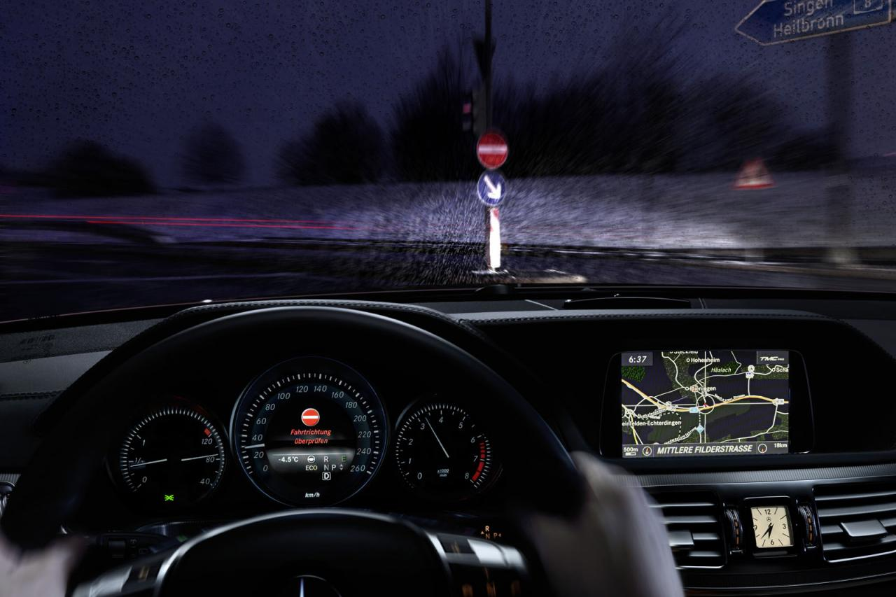 new warning system Latest Mercedes Benz Warning System Set to Counter Ghost Drivers