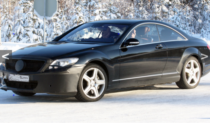 sc2 724x426 2014 S Class Coupe Seen Winter Testing