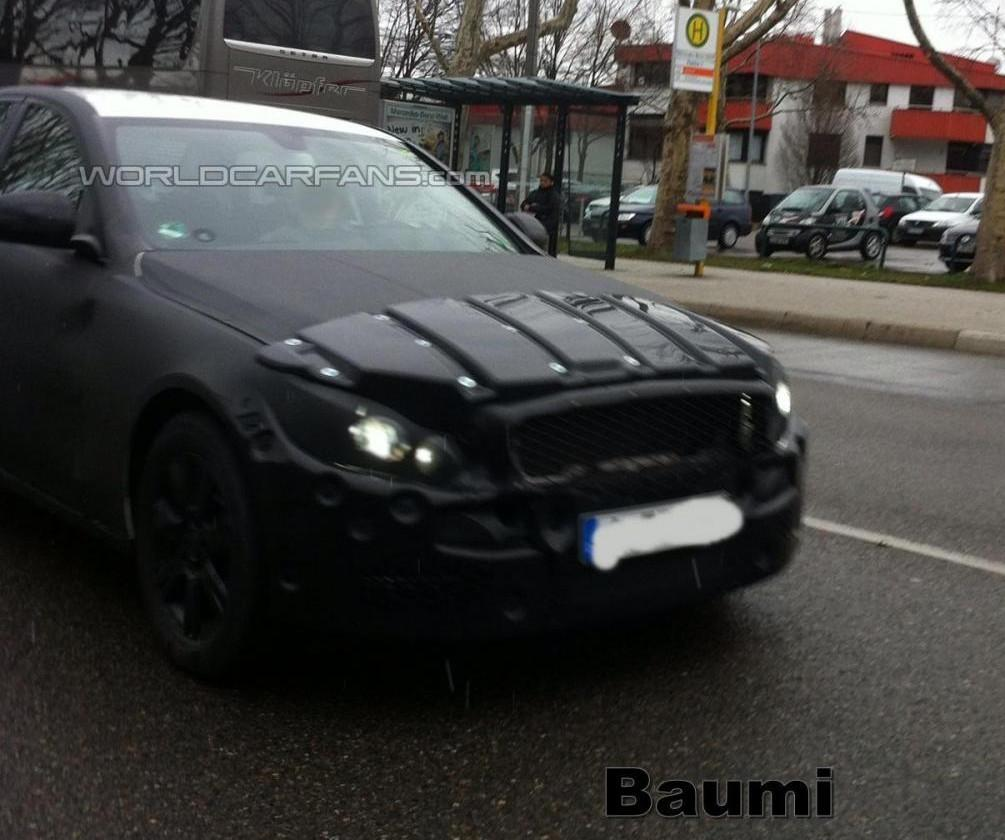 12 Prototype Of Upcoming 2014 Mercedes Benz C Class Spotted Recently