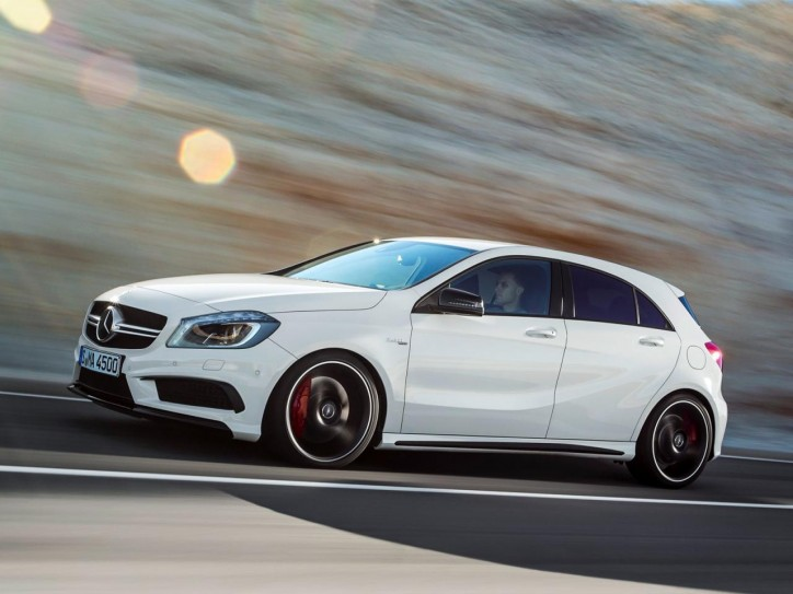 17801720441752806318 724x543 Mercedes Releases Official Pics Of A45 AMG