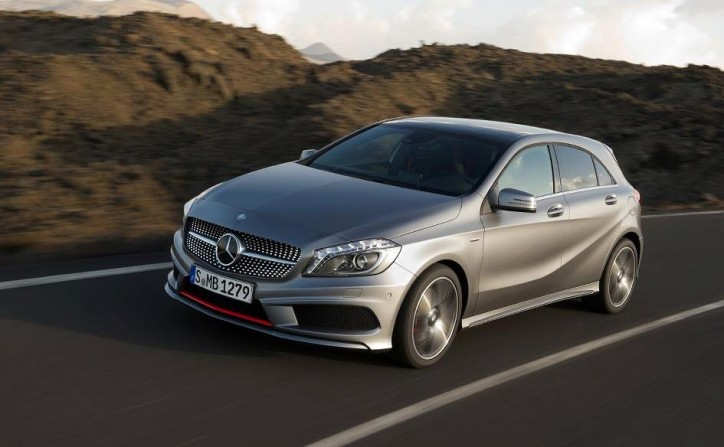 2013 a class 724x447 Mercedes Benz A Class vs. Audi A3 – Which will win?