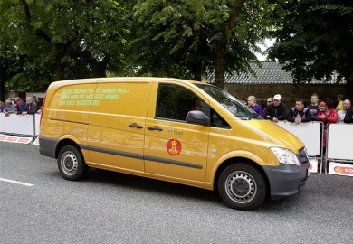 50 Mercedes-Benz Vito E-CELL panel vans are to be delivered to the Danish postal services over the coming months
