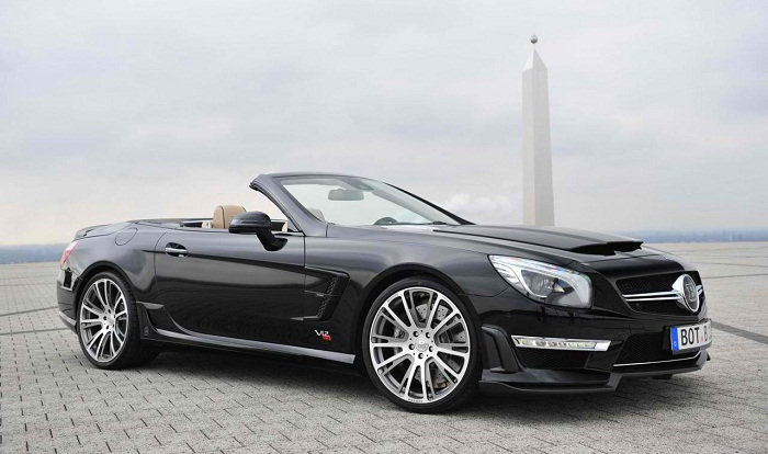 BRABUS 800 Roadster Based on Mercedes Benz SL 65 AMG 00 Take a Look at the Mercedes Benz SL 65 AMG Based BRABUS 800 Roadster