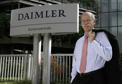 Daimler AG Mercedes-Benz Cars Head Dieter Zetche Extended 3 Years