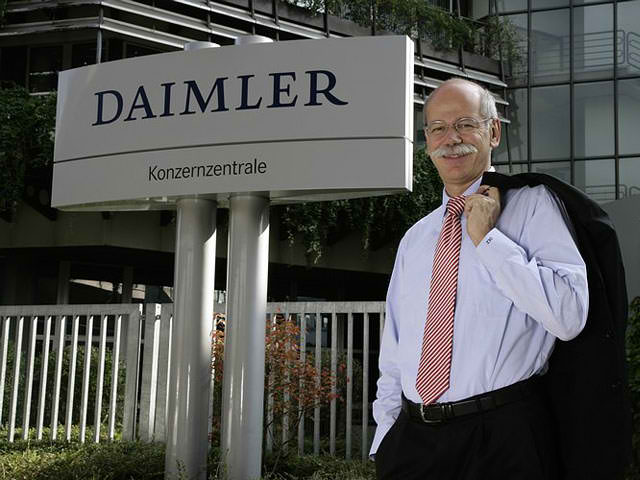 Daimler AG Mercedes Benz Cars Head Dieter Zetche Extended 3 Years Daimler Supervisory Board Extends Dr. Dieter Zetsche and Prof. Dr. Thomas Weber 3 More Years