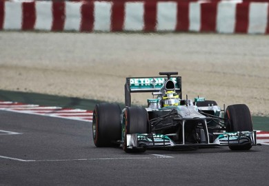 Mercedes AMG Petronas F1 Nico Rosberg Day 3 Barcelona