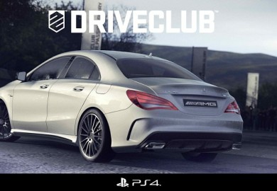 Mercedes-Benz CLA 45 AMG in PS4 Racing Game Driveclub
