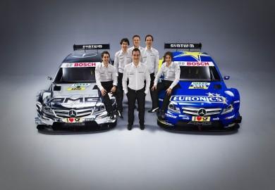 Mercedes-Benz DTM 2013 Driver Lineup