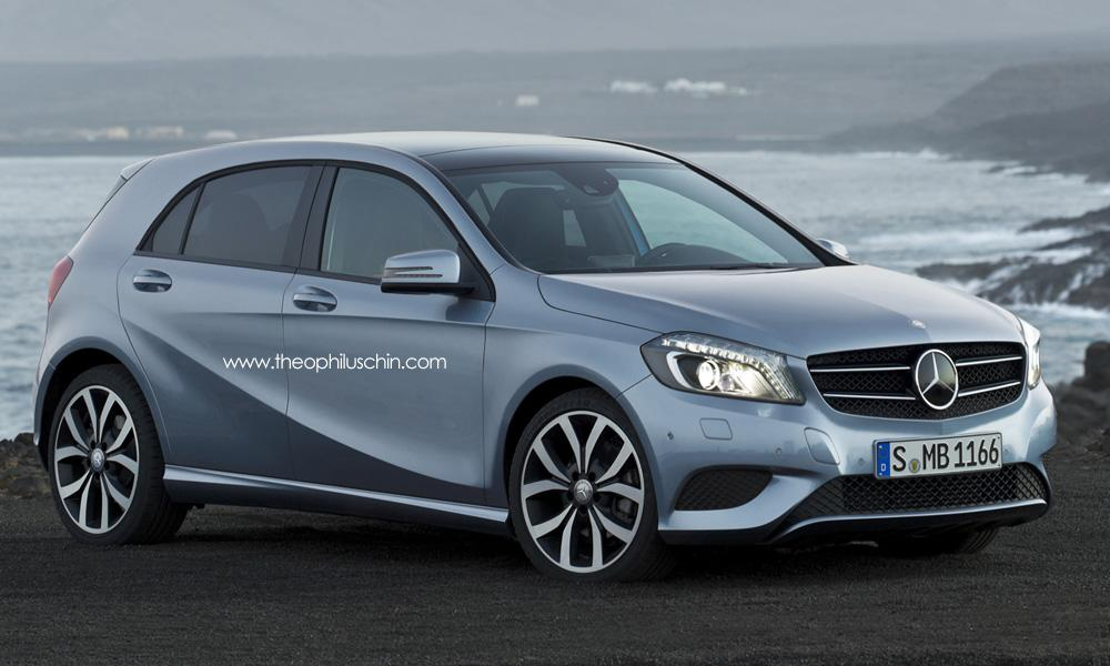 upcoming mercedes benz car model to compete with mini a mercedes benz fan blog. Black Bedroom Furniture Sets. Home Design Ideas