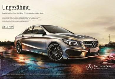 Mercedes-Benz startet umfangreiche Werbekampagne zum CLA