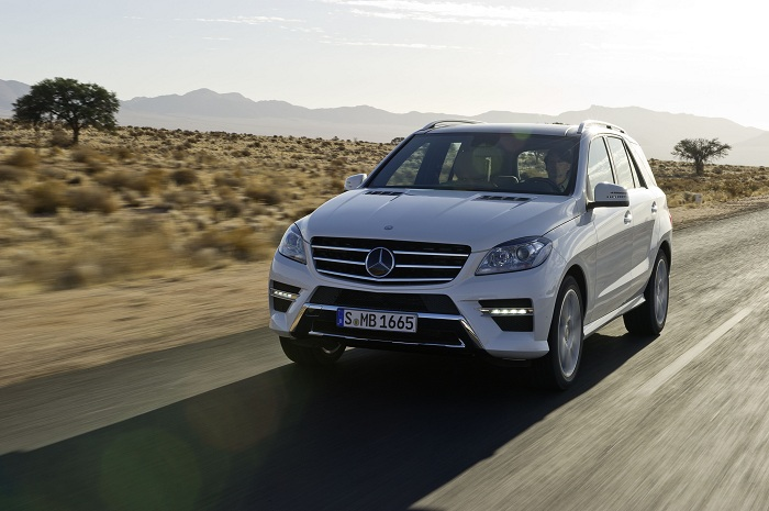 Mercedes Benz M Class C Class, M Class Score Five Stars on US NCAP