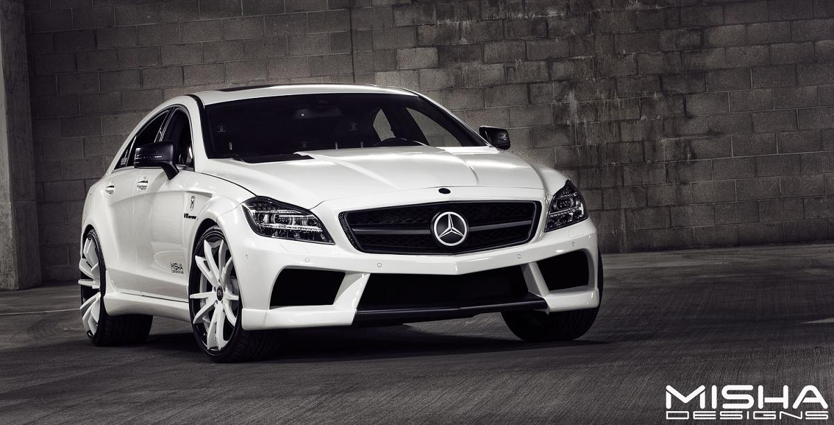 Misha design unveils a new showstopper for Mercedes benz amg kit