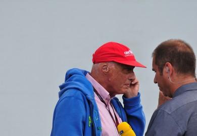 Niki Lauda Mercedes-Benz F1