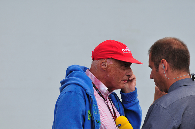 Niki Lauda Mercedes Benz F1 F1: Lauda Says Mercedes Can Compete with Top 3 Teams