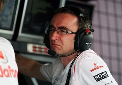 Paddy Lowe Mercedes AMG Petronas F1
