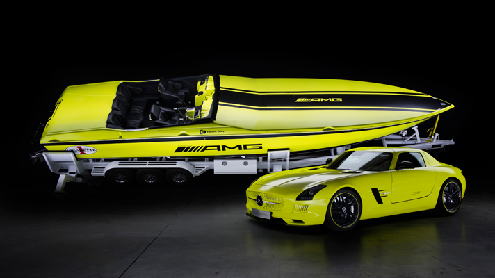 SLS SLS Inspired Powerboat Revealed