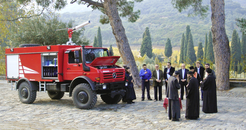 Unimog U5000 Firetruck Unimog – The Subject of Protests of Some Environmental Groups