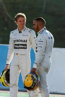 dms1304fe143 Lewis Hamilton Pleased with the Team's Current Position