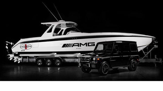 huntress 660 G63 AMG Inspired Custom Built Boat Revealed