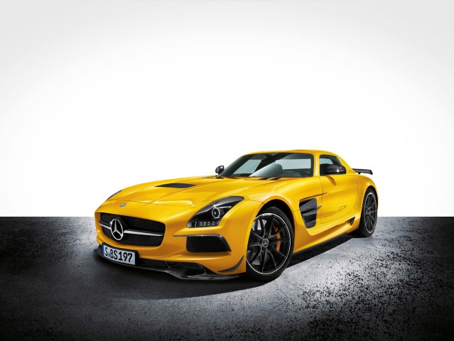 SLS AMG Coup? Black Series, AMG Solarbeam, (C 197), 2012