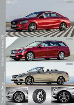 1 Latest Summer Light Alloy Wheel Offerings From Mercedes Benz