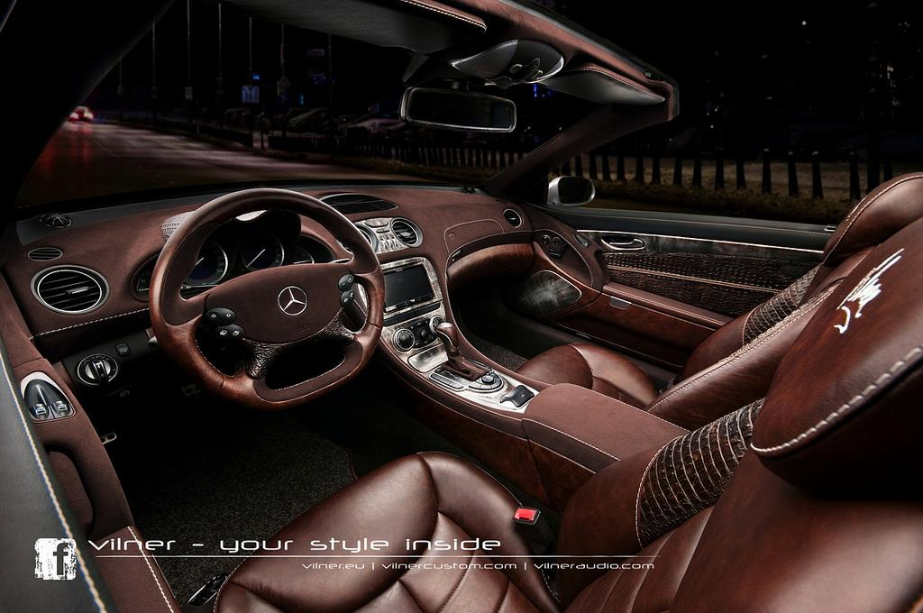 12 Vilner Gives The Mercedes Benz SL A Makeover