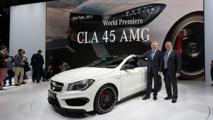 13C340 019 Custom 724x407 Five Mercedes Benz Models To Debut At New York International Auto Show 2013