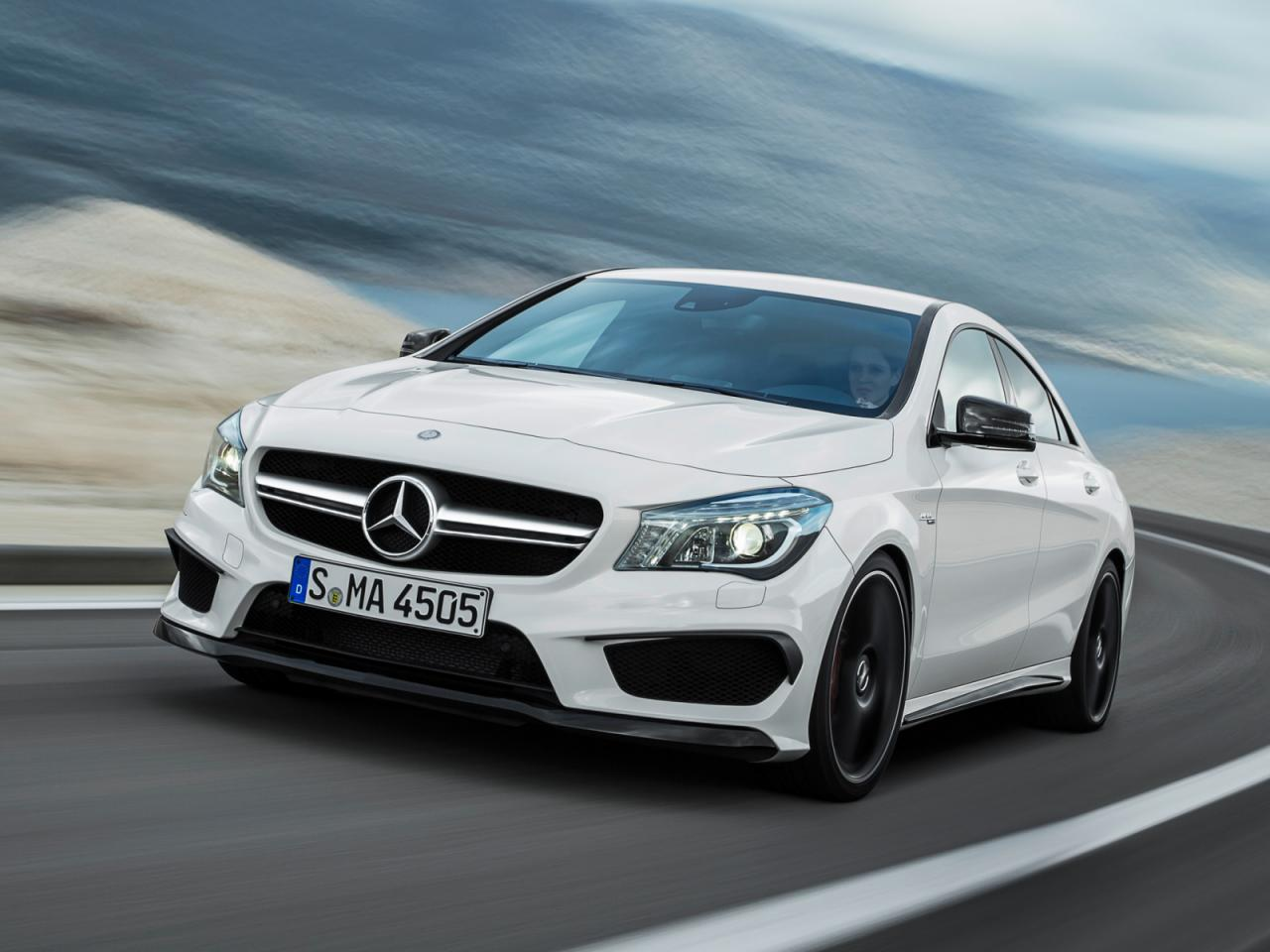 3672613611715012321 2014 Mercedes Benz CLA 45 AMG Official Photos Revealed