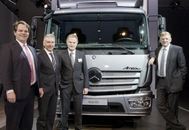 Euro VI Mercedes-Benz Atego Truck