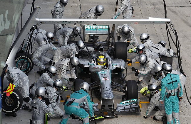 F1 Lewis Hamilton And His Malaysian Gp Pit Stop Gaffe