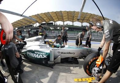 F1 Malaysian Grand Prix Lewis Hamilton Mercedes AMG Petronas