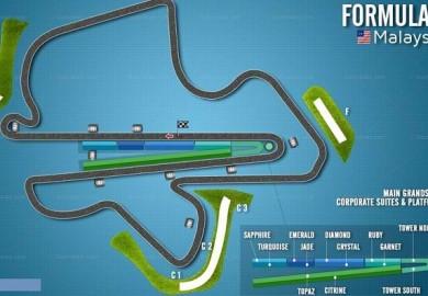 F1 Malaysian Grand Prix Sepang 2013 Mercedes AMG Petronas