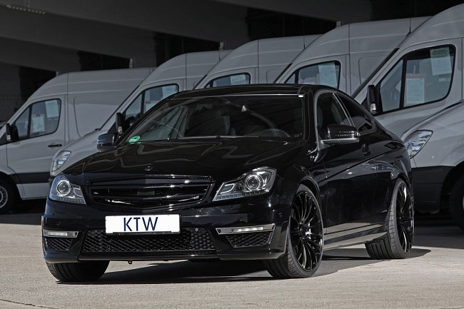 KTW Mercedes Benz C63 AMG 003 KTW Tunes the C63 AMG