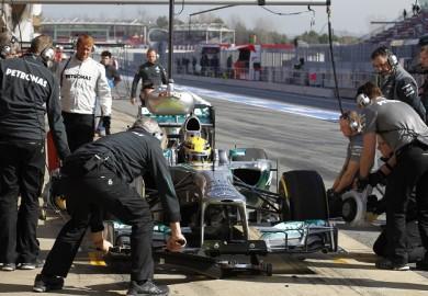 Mercedes AMG Petronas F1 2013