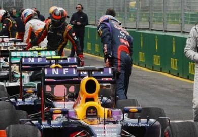 Mercedes AMG Petronas Lewis Hamilton 5th F1 Australian Grand Prix 2013