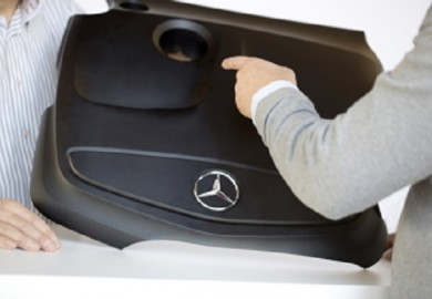 Mercedes-Benz A-Class EcoPaXX Engine Cover