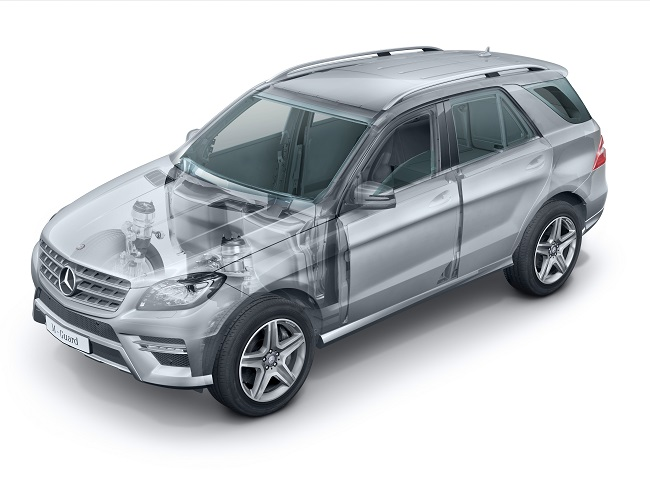 Mercedes Benz M Class Guard The Mercedes Benz M Class Guard: SUV for High Level Protection