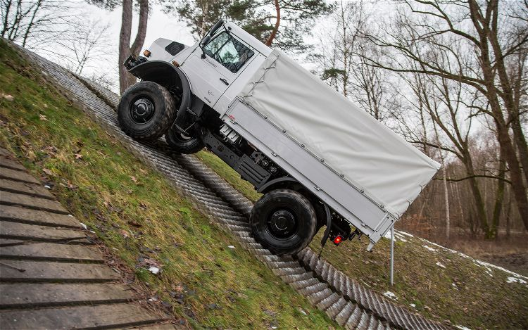 Mercedes Benz Unimog U4000 side Awesome Video of the Mercedes Benz Unimog in Action