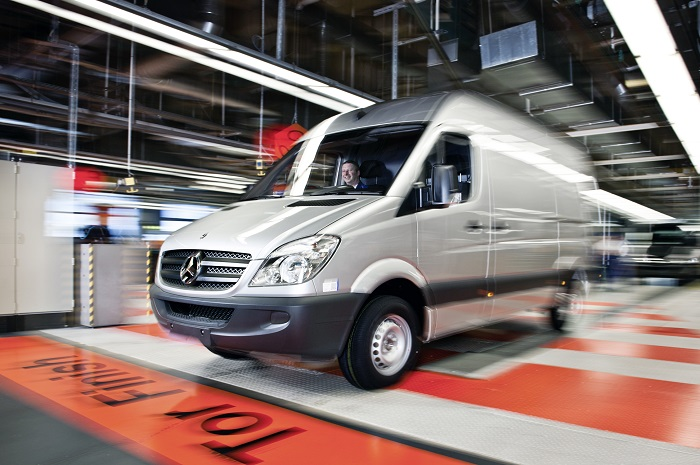 Mercedes Benz Vans 2012 Results Solid 2012 Figures for Mercedes Benz Vans