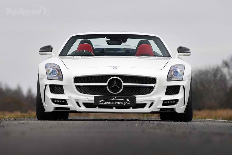 Oakley design and refined marques mercedes benz sls 640 2 for Mercedes benz 640