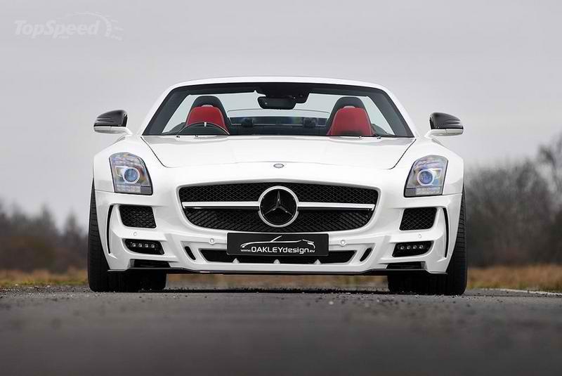 Oakley design and refined marques mercedes benz sls 640 2 for Mercedes benz 640