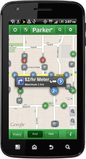 Streetline Parker app1 Parker App: Pretty Neat or Not?
