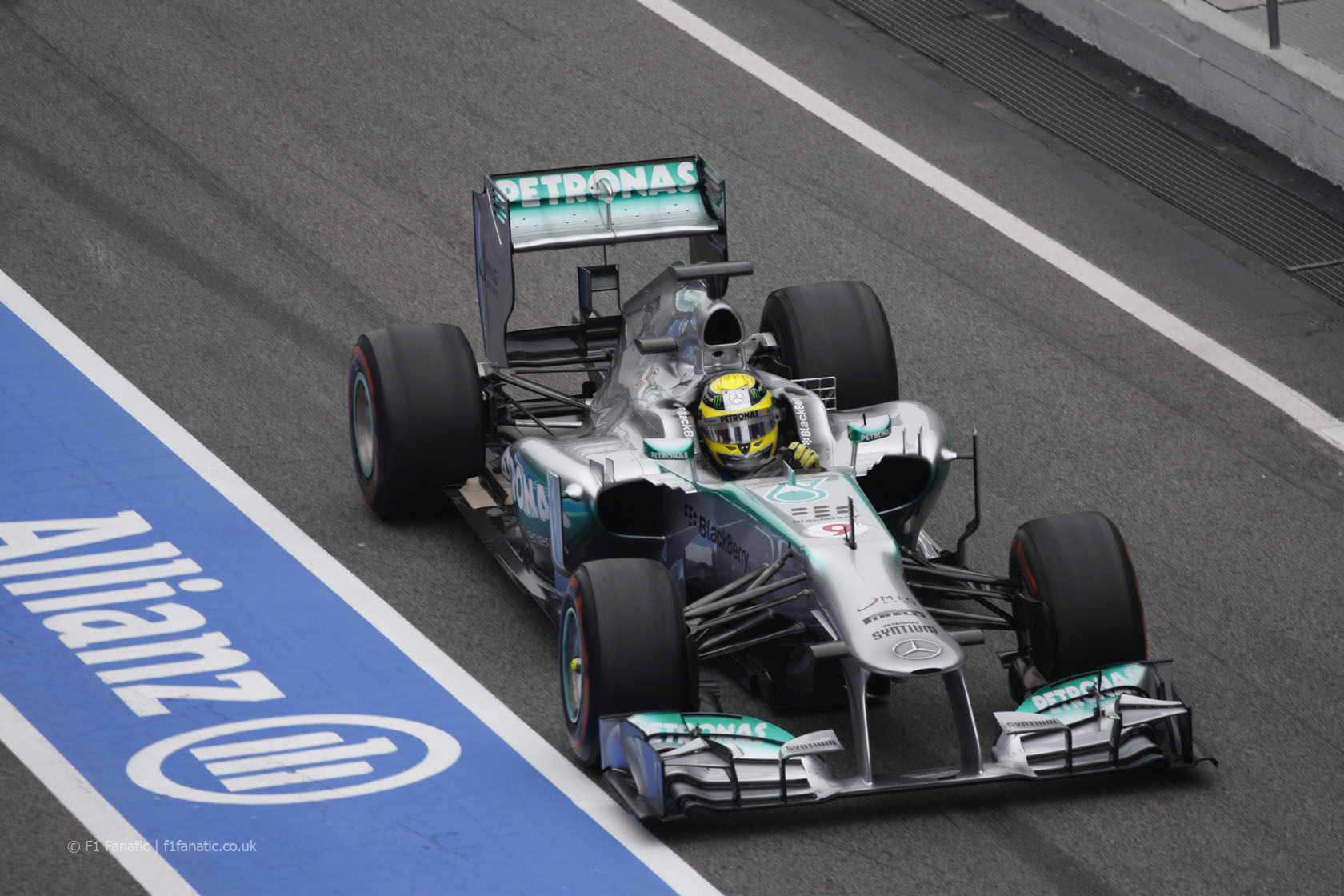 catalunya rosberg1 Awesome Back To Back Performances Delivered By Mercedes Over The Weekend