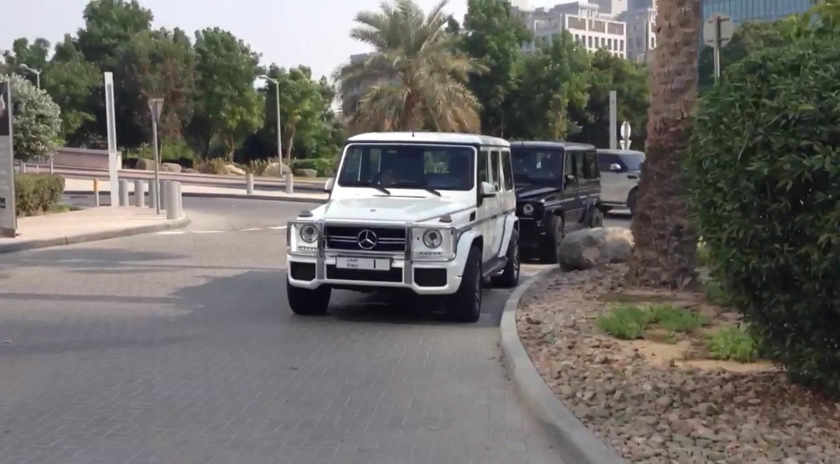 g63 Sheikh Mohammed bin Rashid Al Maktoum Featuring Sheikh Mohammed bin Rashid Al Maktoum's Pack of G63's
